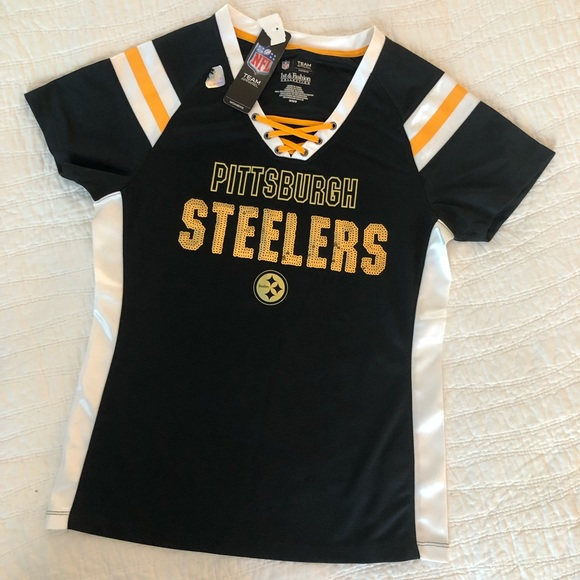factory authentic 72273 cbb74 Official NFL Pittsburgh Steelers Women's Jersey